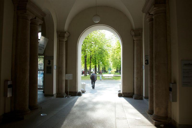 Prof. - Peter Vajkoczy - Charité-Univsersitätsmedizin Berlin, Campus Virchow-Klinikum - Eingang