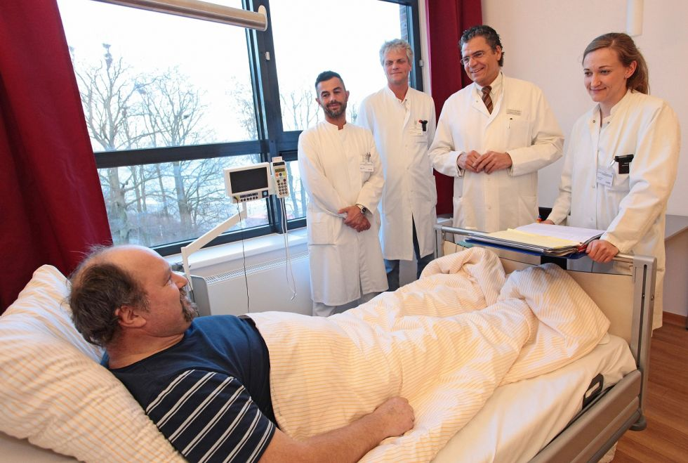 Prof. - Matthias Birth - Helios Hanseklinikum Stralsund - Patientenzimmer