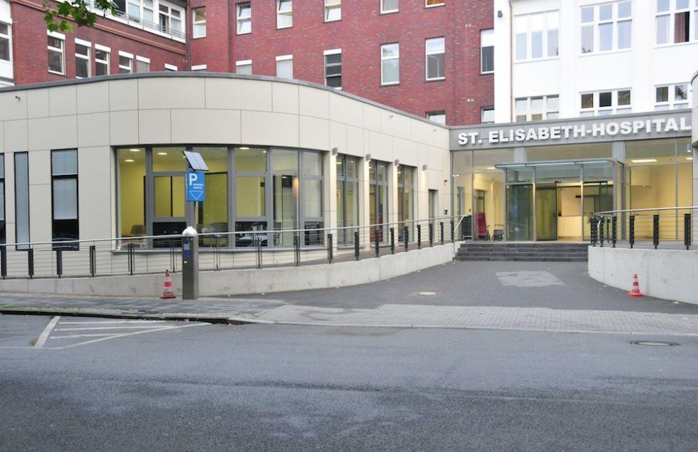 Prof. - Stefan Dazert - St. Josef- und St. Elisabeth-Hospital, Kliniken der Ruhr-Universität Bochum - Außenansicht