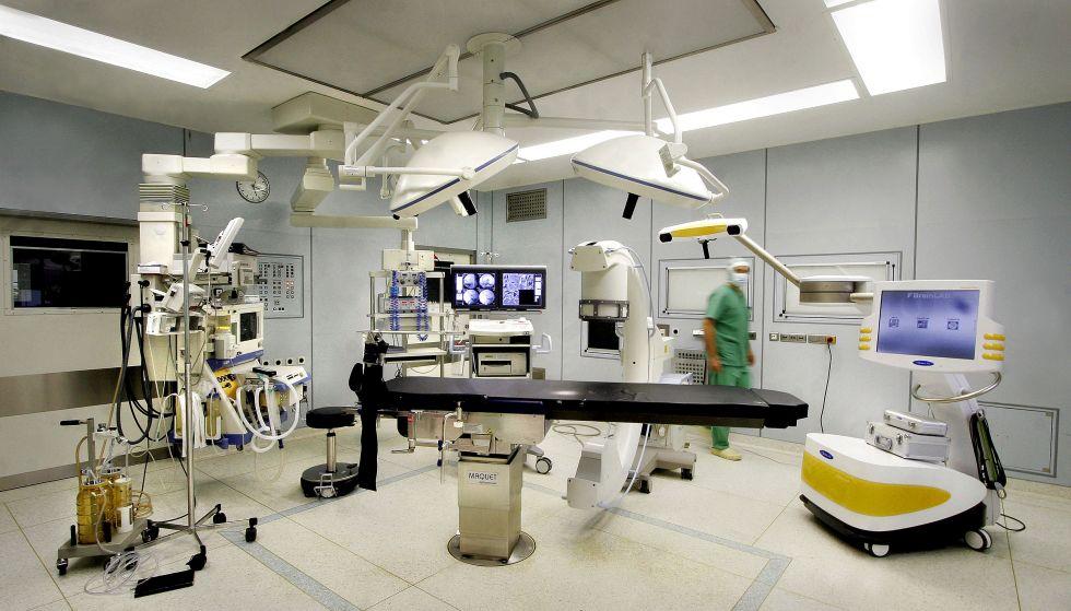 Univ.- - Ulrich Stöckle - BG Klinik - Berufsgenossenschaftliche Unfallklinik Tübingen - Operationssaal