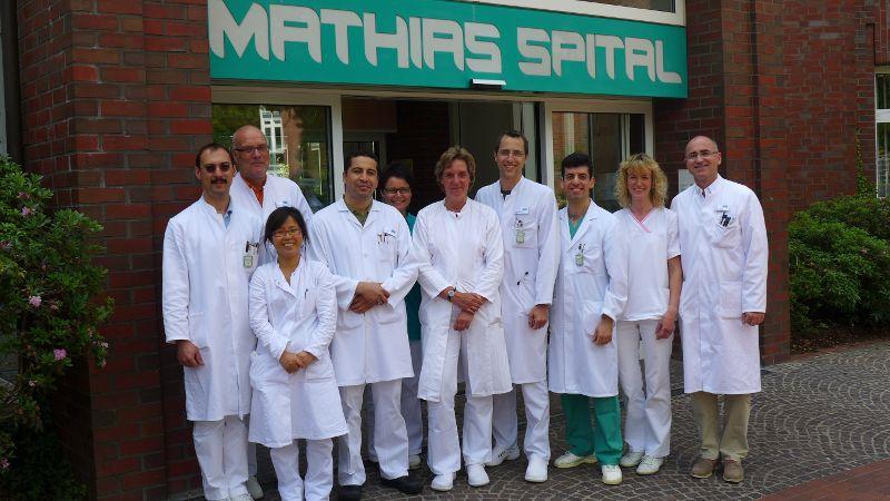 Prof. - Gerd Rudolf Lulay - Klinikum Rheine / Mathias - Spital - Team