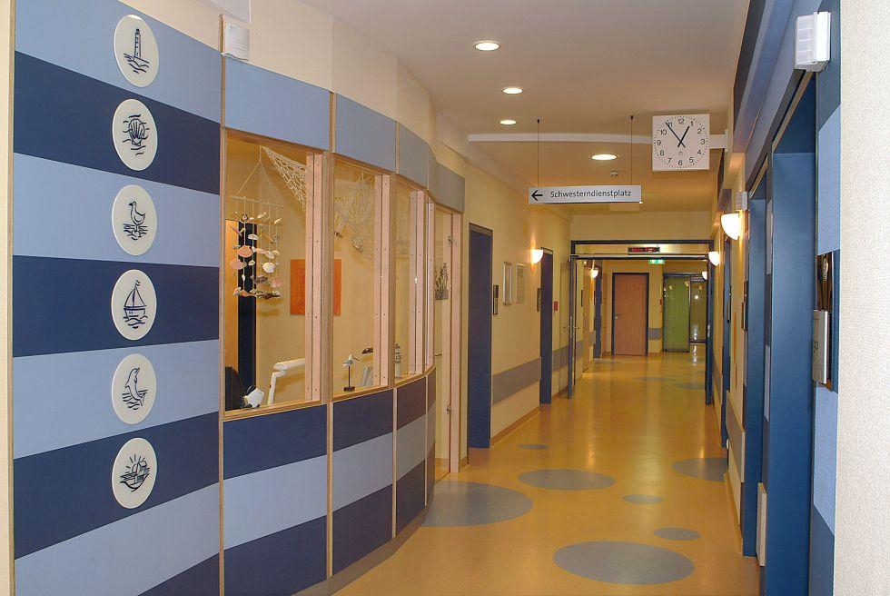 Prof. - Eckard H. Hamelmann - Evangelisches Krankenhaus Bielefeld - Empfangsbereich
