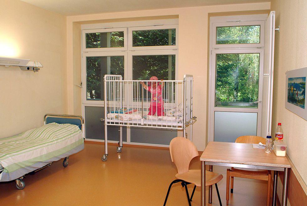 Prof. - Eckard H. Hamelmann - Evangelisches Krankenhaus Bielefeld - Patientenzimmer