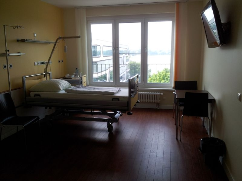 Prof. - Karl-Heinz Kuck - Asklepios Klinik St. Georg - Patientenzimmer