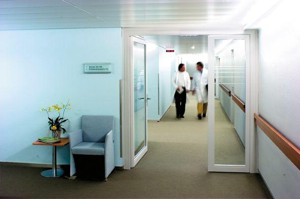 Prof. - Paul Robert  Vogt - Hirslanden Klinik im Park, HerzGefässZentrum Zürich - Innenansicht