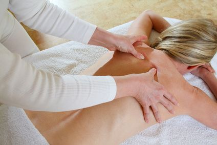 Massage bei Muskelschmerz